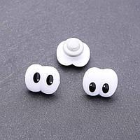 Фурнитура глазки для игрушек парные 18х20мм фас.50шт.