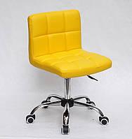 Офисный стул Арно ARNO ЭК CH-OFFICE желтая экокожа на колесиках