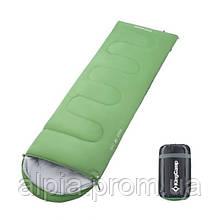 Спальный мешок KingCamp Oasis 250/+7°C, зеленый (R)