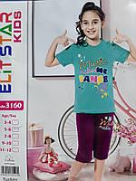"""Пижама детская с принтом на девочку 3-10 лет """"Home Style"""" недорого от прямого поставщика"""