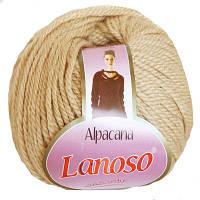 Зимняя пряжа Lanoso Alpacana 3004 25% альпака