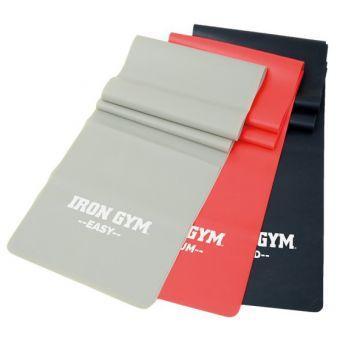 Комплект ленточных эспандеров Iron Gym 3шт. IG00127  (ФИТНЕС)