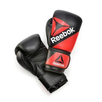 Боксёрские перчатки Reebok Combat RSCB-10200RDBK 16oz red/black  (ФИТНЕС)