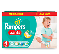 Подгузники-трусики Pampers Pants 4 MEGA PACK ( 104 шт / 9-15 кг)