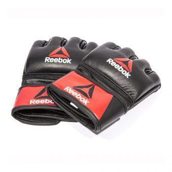 Перчатки MMA Reebok RSCB-10320RDBK M кожаные  (ФИТНЕС)