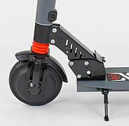 """Электросамокат 83325 (1) """"Best scooter"""", колеса 6,5"""", цвет СЕРЫЙ Гарантия качества Быстрая доставка, фото 5"""
