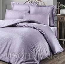 Комплект постельного белья жаккард Tм Victoria 200*220 Valeria lila