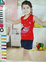 """Пижама детская с принтом  на девочку 4-8 лет """"Home Style"""" недорого от прямого поставщика"""