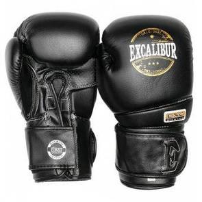 Перчатки боксерские Excalibur 8000-01 Platinum (12 oz) черный (дом)