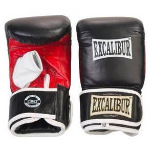 Снарядные перчатки Excalibur 604 M черный/красный/белый  (ФИТНЕС)