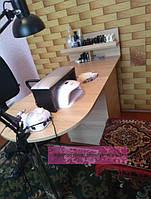 Маникюрный столик, дуб сонома 3