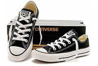 Кеды Converse Style All Star Черные низкие (35-45р.) Тотальная распродажа