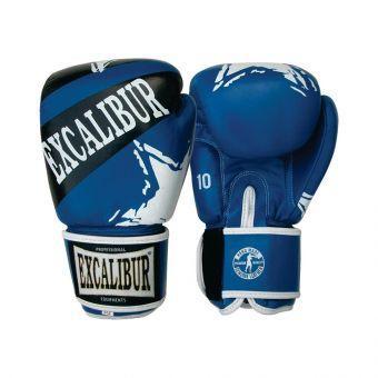 Перчатки боксерские Excalibur 550-03 Forza  синий  (ФИТНЕС)