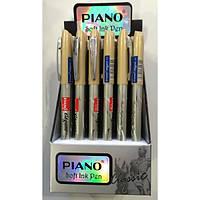 Ручка PT-185 Piano шариковая синяя 0,7мм уп24