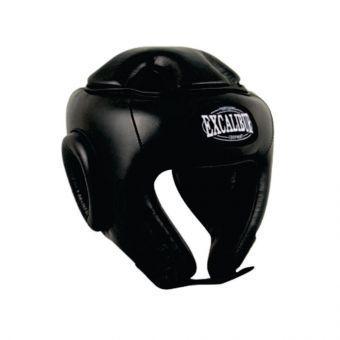 Шлем боксерский Excalibur 701 L черный  (ФИТНЕС)