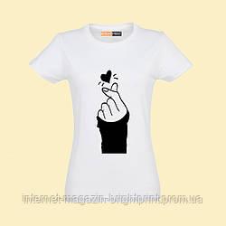 """Жіноча футболка з принтом """"K-Pop"""""""