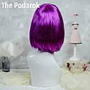 Парик Каре (фиолетовый), фото 3