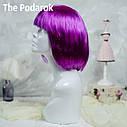 Парик Каре (фиолетовый), фото 2