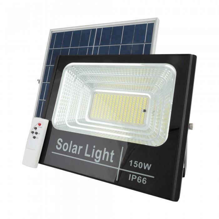 Прожектор на солнечных батареях Solar Light 150W уличный с пультом