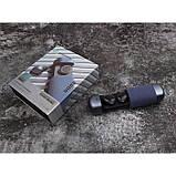 Беспроводные стерео наушники TWS 206 Bluetooth + бокс Синие, фото 3