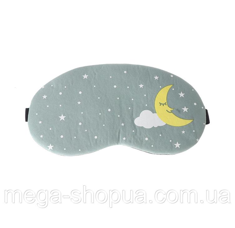 """Маска для сна и отдыха """"Moon & Cloud"""". Повязка для сна и релакса. Ночная маска для сна. Маска для сну"""