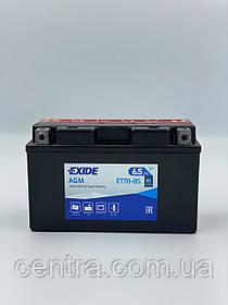 Мото аккумулятор EXIDE ET7B-BS 6.5Ah