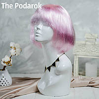 Парик Каре (Светло-розовый)