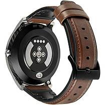 Умные часы Gelius Pro GP-L3 (URBAN WAVE 2020) (IP68) Серебряный/Темно-Коричневый, фото 2