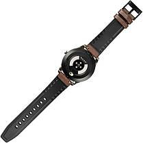 Умные часы Gelius Pro GP-L3 (URBAN WAVE 2020) (IP68) Серебряный/Темно-Коричневый, фото 3