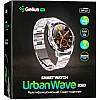 Умные часы Gelius Pro GP-L3 (URBAN WAVE 2020) (IP68) Серебряный/Темно-Коричневый, фото 4