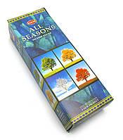 Аромапалочки Hem Все сезоны, на угольной основе (All Seasons) 20 шт.