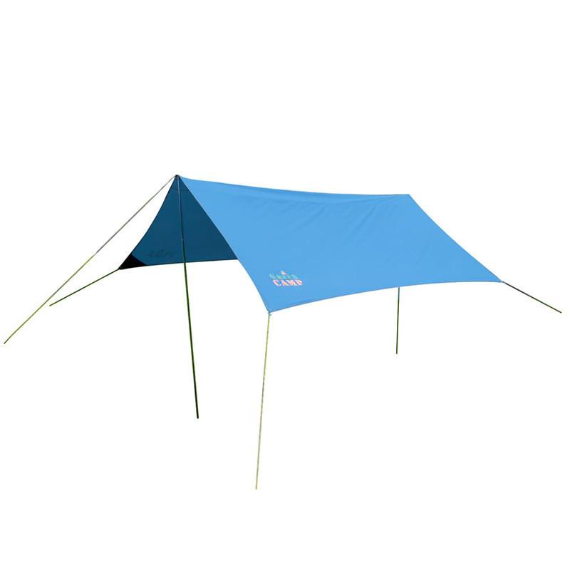 Пляжный тент,  туристический, GreenCamp, синий, GC0281B + Подарок