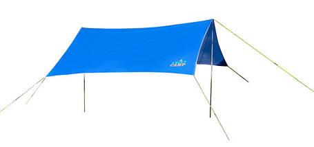 Пляжный тент,  туристический, GreenCamp, синий, GC0281B + Подарок, фото 2