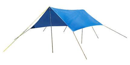 Пляжный тент,  туристический, GreenCamp, синий, GC0281B + Подарок, фото 3