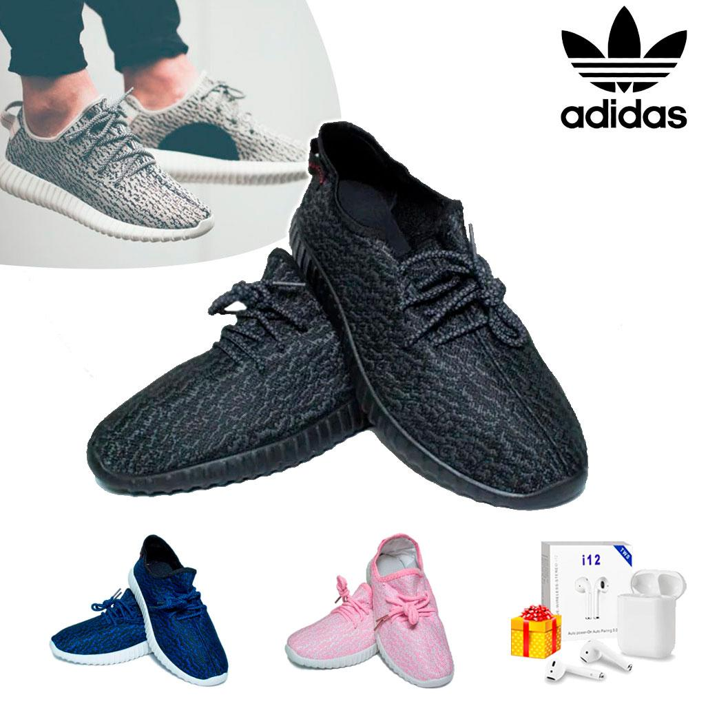 Кроссовки Adidas Yeezy Boost 350 (37-41 р.) + Наушники Airpods в Подарок