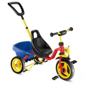 Трехколесный велосипед Puky CAT 1 S Rot 2324  (ФИТНЕС)