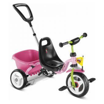 Трехколесный велосипед Puky CAT 1S розовый  (ФИТНЕС)