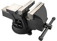 Тиски слесарные TOPEX поворотные 100 мм (07A210)