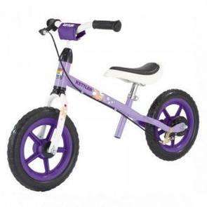 """Беговел-велобег детский Кетлер Спиди Kettler Speedy 12.5"""" Pablo фиолетовый дом) (ФИТНЕС)"""