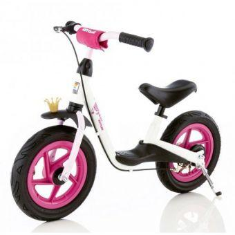 Детский Беговел-велобег мотоцикл от 2 лет Kettler Spirit Air Princess белый  (ФИТНЕС)