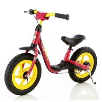 Детский Беговел-велобег мотоцикл от 2 лет Kettler Spirit Air красный  (ФИТНЕС)