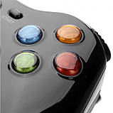 Беспроводной bluetooth джойстик для ПК PC GamePad DualShock вибро BTP-2185, фото 6