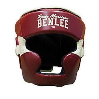 Боксерський шолом BENLEE Hopkins M (199106/2025) Бордовий (будинок)
