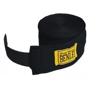 Бинты для рук BENLEE Elastic 300cm  Черный  (ФИТНЕС)