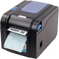 ✅Принтер для  этикеток и штрих-кодов Xprinter XP-370B ценников usb, фото 1