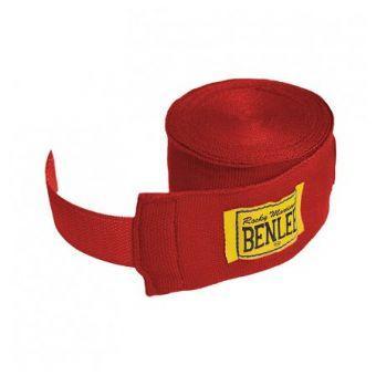 Бинт для рук BENLEE Elastic 450 cm  Красный  (ФИТНЕС)