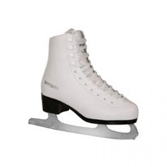 Коньки фигурные Winnwell Figure Skate Youth р.38 Белый  (ФИТНЕС)