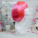 Парик Каре (розовый), фото 2