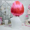Парик Каре (розовый), фото 3