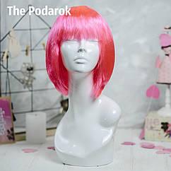 Парик Каре (розовый)